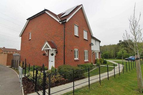 3 bedroom end of terrace house for sale - The Burrows, Ashford, TN23