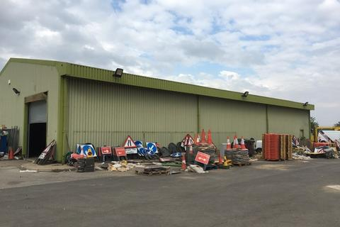 Land to rent - Warehouse B, The Old Council Depot, Ings Road, Wombwell, Barnsley, S73 0BP