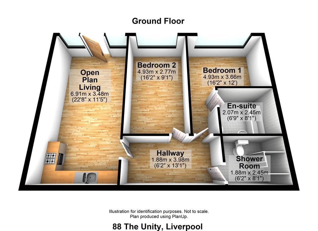 Floorplan: 88 Unity   Floorplan