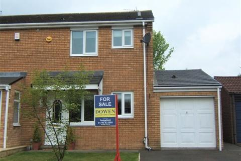 3 bedroom semi-detached house for sale - ROTHBURY CLOSE, TRIMDON GRANGE, SEDGEFIELD DISTRICT