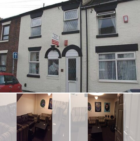 4 bedroom house share to rent - Queen Anne Street, Room 4, Stoke-On-Trent ST4
