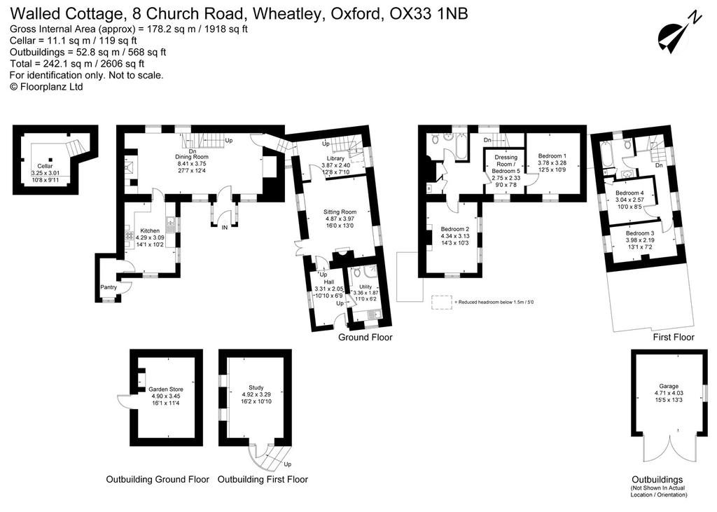 Floorplan 1 of 2: Walled Cottage