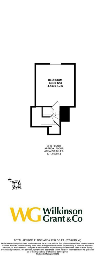 Floorplan 4 of 4: 3rd Floor