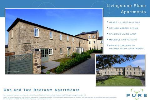 2 bedroom apartment for sale - L021 Livingstone Place, St Asaph