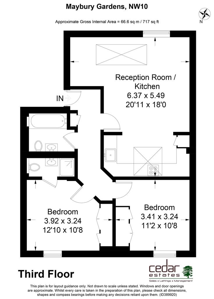 grosvenor studios willesden green nw10 2 bed flat to rent 1 950 pcm 450 pw. Black Bedroom Furniture Sets. Home Design Ideas