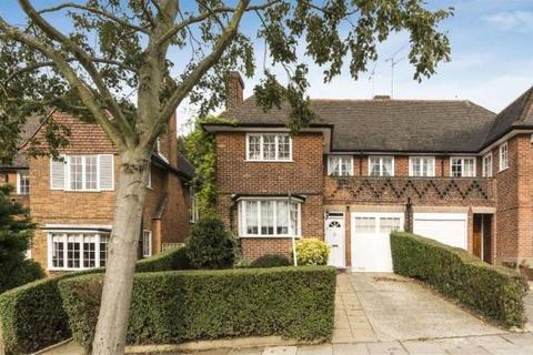 4 bedroom semi-detached house for sale - Hill Top, London, NW11