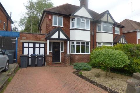 3 bedroom semi-detached house to rent - Harts Green Road, Harborne, Birmingham, B17 9TZ