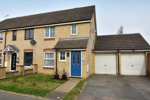 3 bedroom end of terrace house for sale - Green Oak Glade, Ipswich IP8 3TH