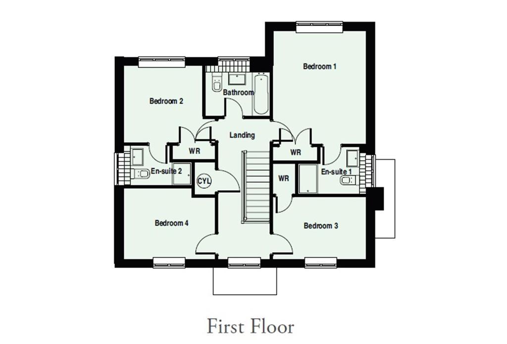 Floorplan 1 of 4: Allington   FF