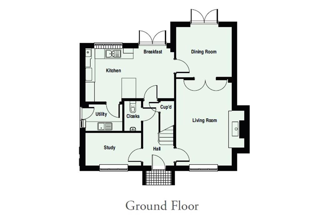 Floorplan 2 of 4: Allington   GF