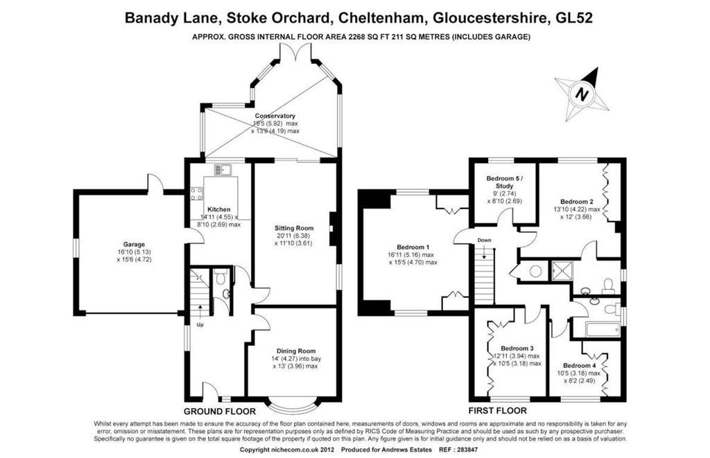 Floorplan: Banady Lane