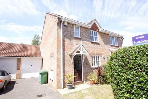 3 bedroom semi-detached house for sale - Doulton Gardens, Whitecliff, Poole, Dorset, BH14