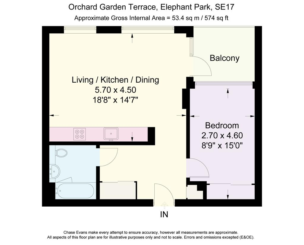 tarling house elephant park elephant castle se17 1 bed apartment to rent 1 950 pcm 450 pw. Black Bedroom Furniture Sets. Home Design Ideas