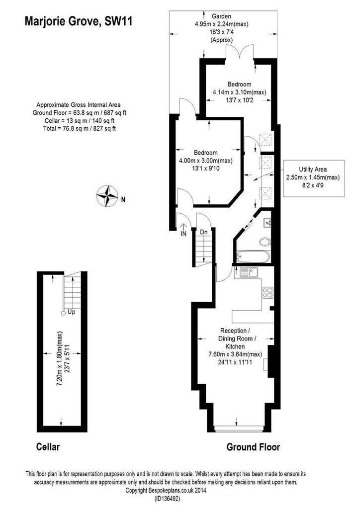 marjorie grove clapham 2 bed apartment to rent 1 950 pcm 450 pw. Black Bedroom Furniture Sets. Home Design Ideas