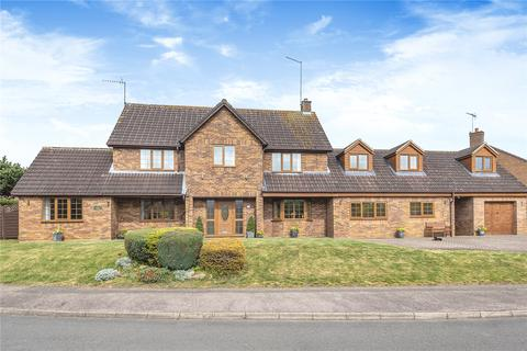 6 bedroom detached house for sale - Lister Drive, West Hunsbury, Northampton, NN4