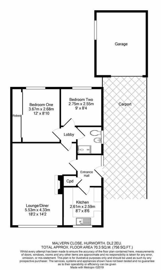 Floorplan: Malvern Close Hurworth DL22 EU print.JPG