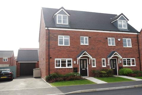 4 bedroom semi-detached house for sale - Hurricane Road, Hucknall, Nottingham, NG15
