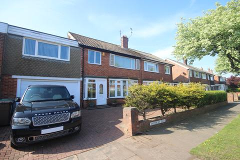 4 bedroom terraced house for sale - Woodburn Drive, Whitley Bay, NE26 3HS
