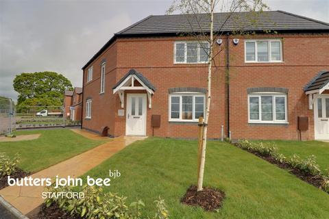 3 bedroom semi-detached house for sale - Wootton Drive, Creswell Croft, Stafford