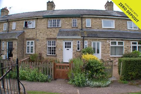 2 bedroom terraced house to rent - Brunswick Cottages, Midsummer Common