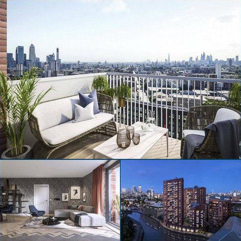 Studio for sale - Three Waters, Bow Creek, London, E3