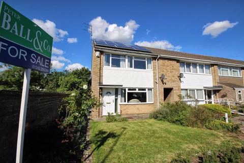 3 bedroom end of terrace house for sale - Cumberland Crescent, Rowanfield, Cheltenham, GL51