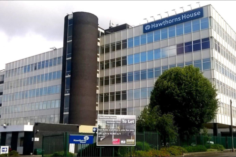 Office to rent - Fifth Floor Suite 508A, Halfords Lane, West Bromwich, Birmingham, B66