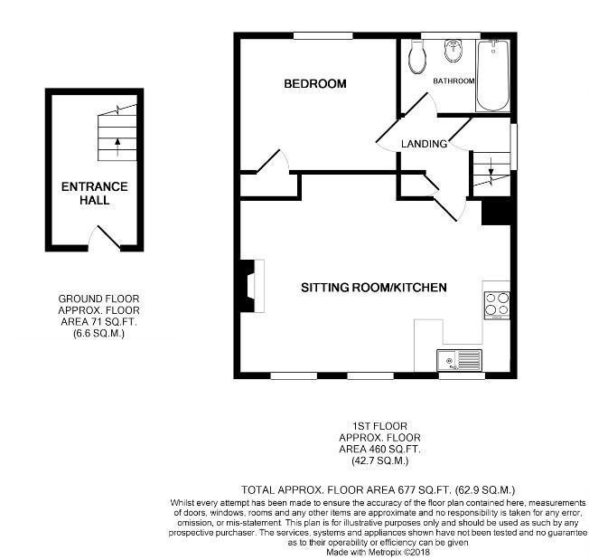 Floorplan: 81a Birdwood Rd Cambridge FP.jpg