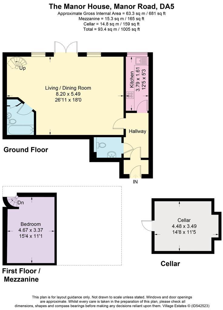 Floorplan: 6 The Manor House
