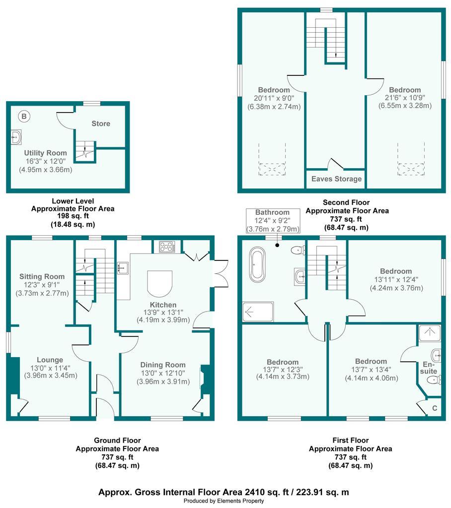 Floorplan: Leasgill House