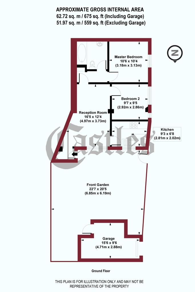 Floorplan: Weston Park, N8