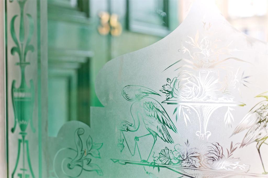 Glass Door Detailing