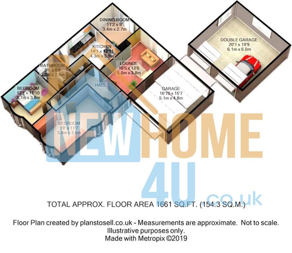 Floorplan 1 of 2: 9 Lawnt Y Pentre FP 1.JPG