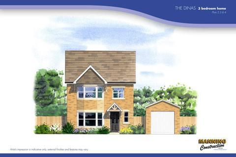 3 bedroom detached house for sale - RESIDENTIAL DEVELOPMENT, 4 Yr Hen Ffordd Geffylau, Porth