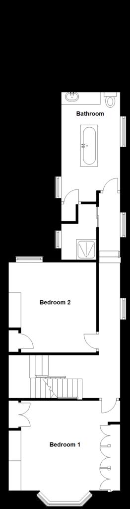 Floorplan 2 of 3: Split Level First Floor