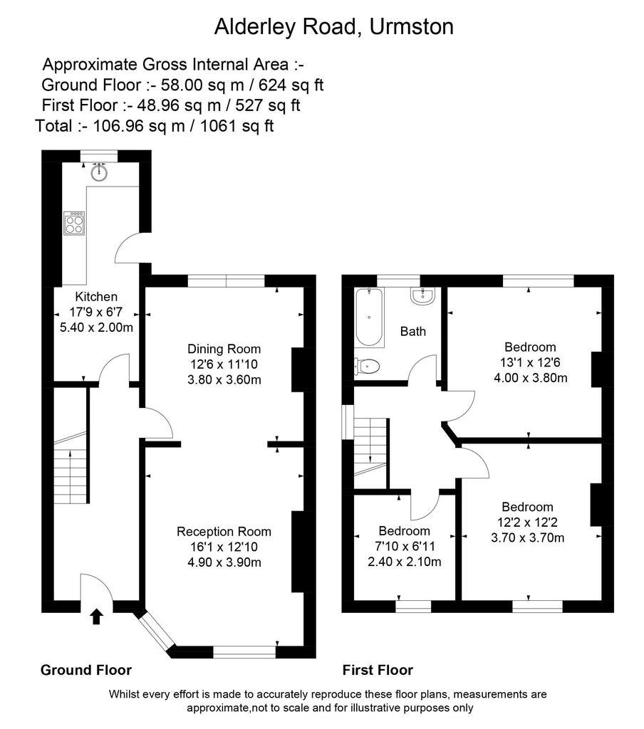Floorplan: 33 Alderley Road