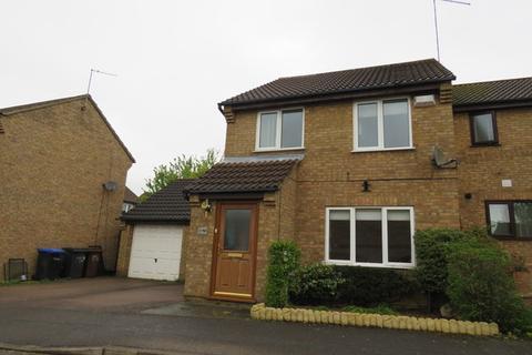 3 bedroom link detached house for sale - Brashland Drive, East Hunsbury, Northampton, NN4