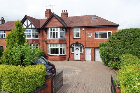 5 bedroom semi-detached house for sale - Meadway, Crewe Road, Sandbach, CW11 4PZ