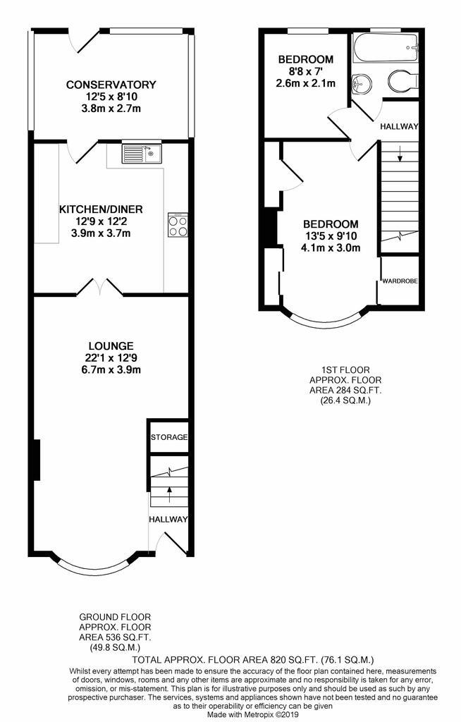 Floorplan: Lyndon Avenue print