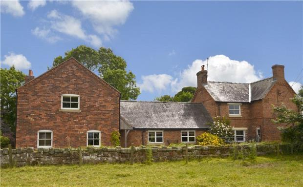 4 Bedrooms Detached House for sale in Hailstones, West Felton, Oswestry, Shropshire