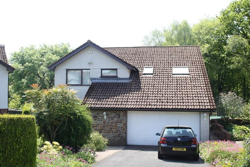 4 Bedrooms Detached House for sale in , Woodland Park, Ynystawe, Swansea.
