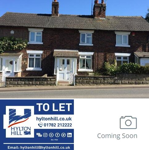 2 bedroom terraced house to rent - The Cottages, Baldwins Gate, Newcastle, Staffordshire ST5 5DA