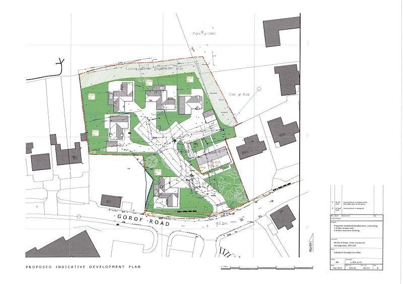 Plot Commercial for sale in Glancamlas, Gorof Road, Lower Cwmtwrch, Swansea.