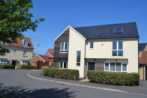 4 bedroom detached house for sale - Towpath Avenue, Hunsbury Meadows, Northampton NN4 9DW