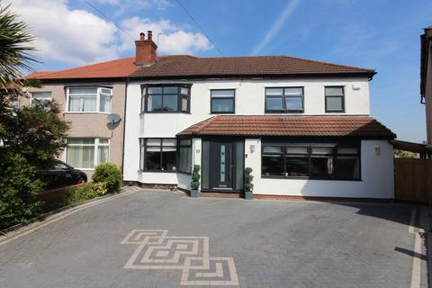 5 bedroom semi-detached house for sale - Lyndhurst Avenue, Heswall