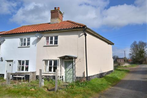 3 bedroom semi-detached house for sale - Low Common, Bunwell, Norfolk - BY AUCTION