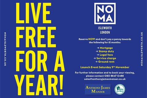 1 bedroom flat for sale - NOMA, St Johns Road, Isleworth, Middlesex