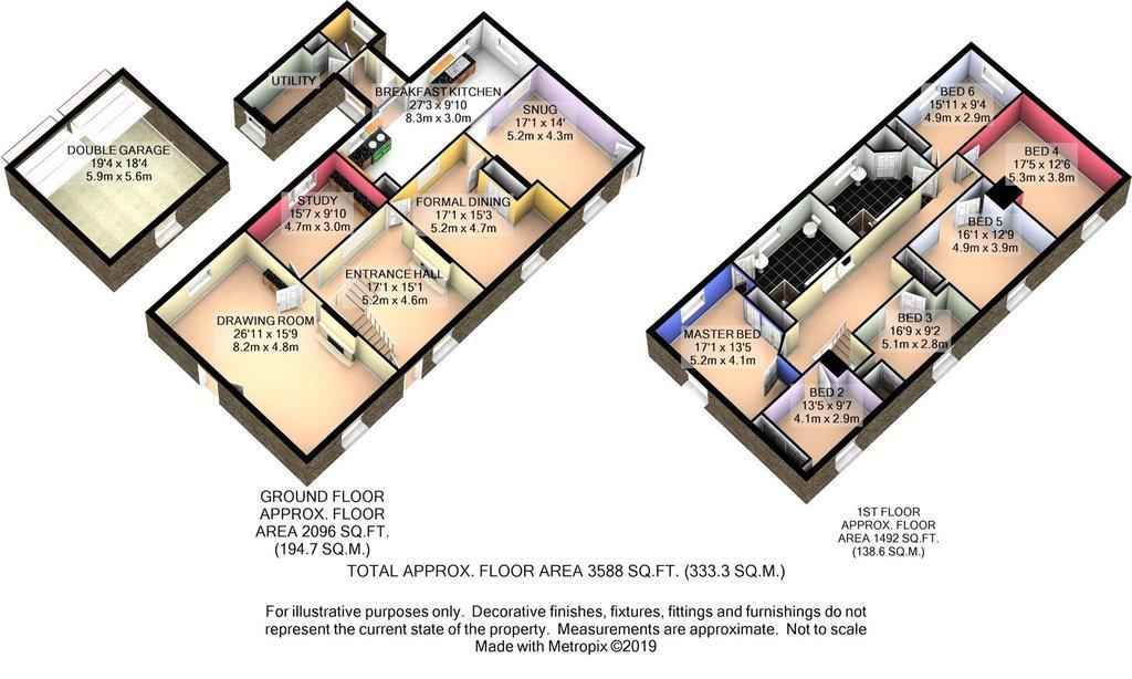 Floorplan 2 of 7: Platts Farm 3 D Floor Plan