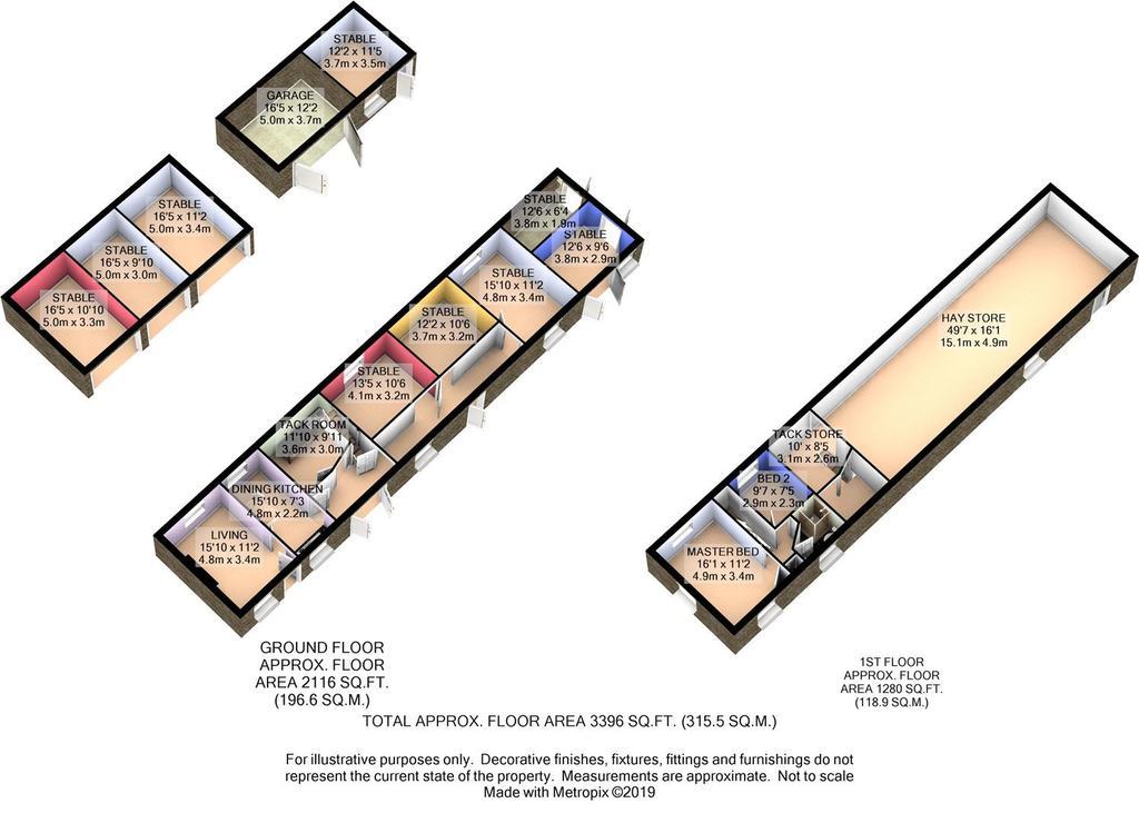 Floorplan 7 of 7: Outbuildings 3 D Floor Plan