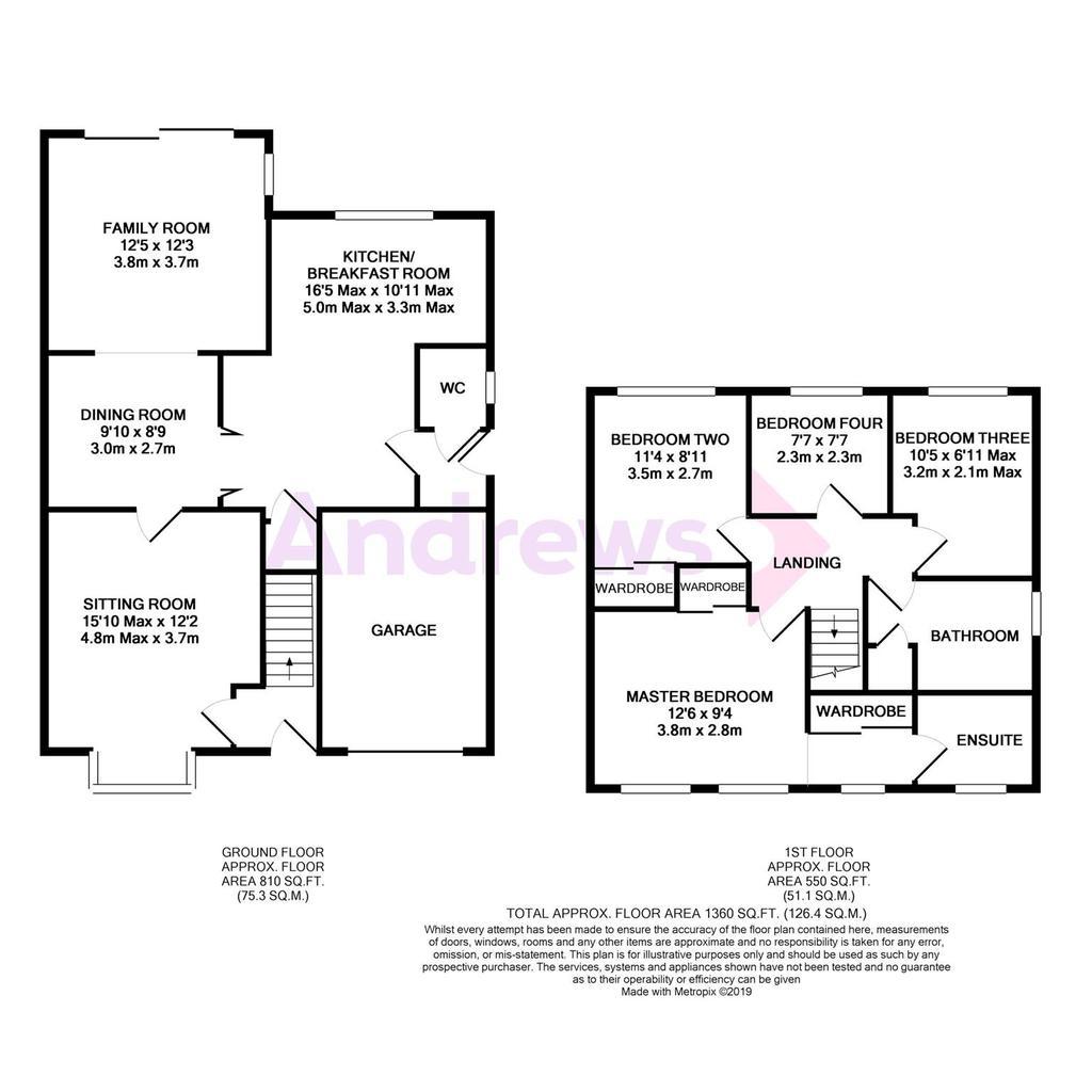 Floorplan: Metropix12492062